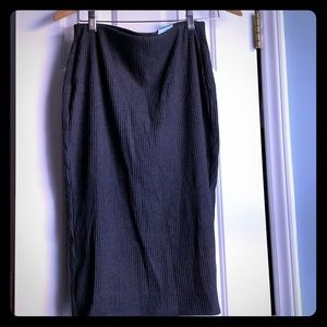 Old Navy | Ribbed Pencil Midi Skirt Size M